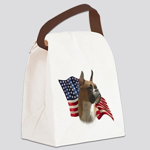 BoxerFlag Canvas Lunch Bag