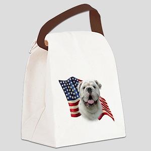 BulldogFlag Canvas Lunch Bag