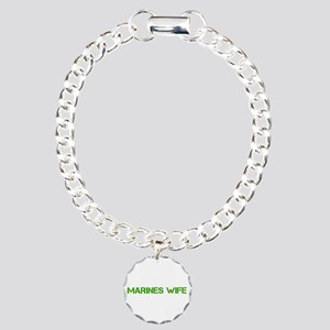 marines-wife-clean-green Bracelet