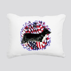 CardiganPatriot Rectangular Canvas Pillow
