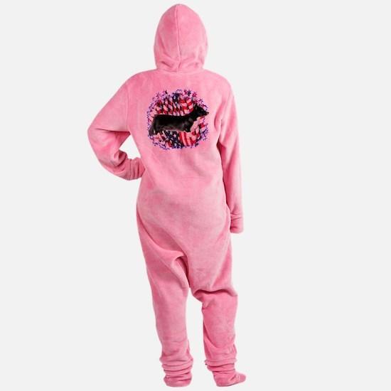 CardiganPatriot.png Footed Pajamas