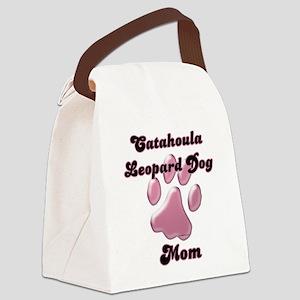 CatahoulaMomblkpnk Canvas Lunch Bag