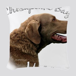 ChesapeakeMom Woven Throw Pillow