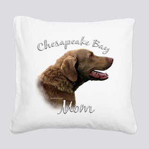 ChesapeakeMom Square Canvas Pillow