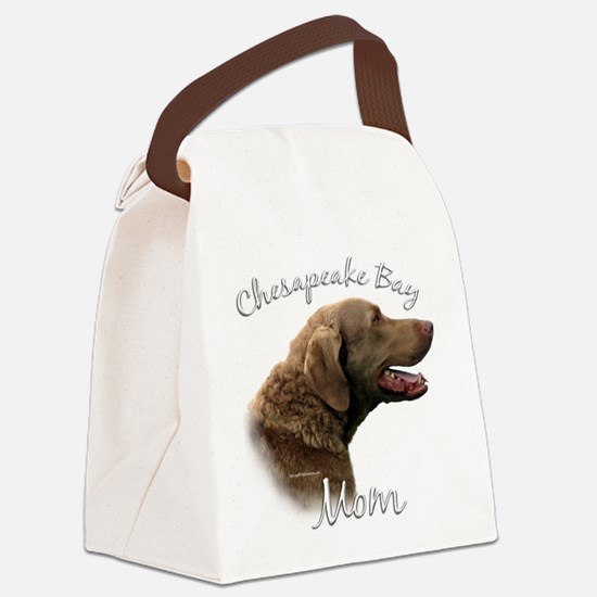 ChesapeakeMom.png Canvas Lunch Bag