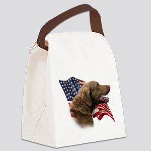 ChessieFlag Canvas Lunch Bag