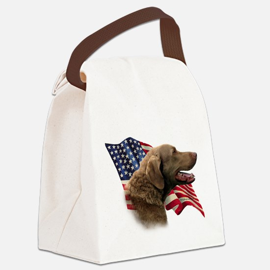 ChessieFlag.png Canvas Lunch Bag