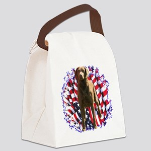 ChessiePatriot Canvas Lunch Bag