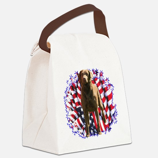 ChessiePatriot.png Canvas Lunch Bag