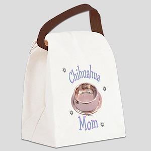 ChihuahuaMom Canvas Lunch Bag