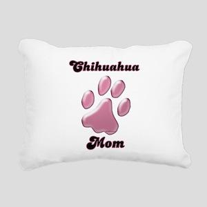 ChihuahuaMomblkpnk Rectangular Canvas Pillow
