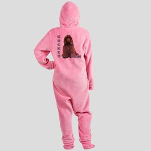 CockerbrownMom4 Footed Pajamas