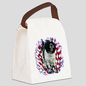 CockerPartiPatriot Canvas Lunch Bag