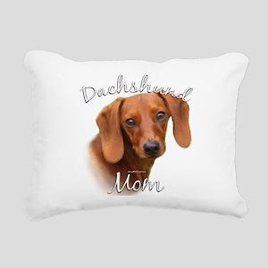 DachshundMom Rectangular Canvas Pillow
