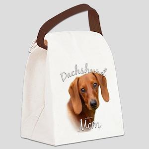 DachshundMom Canvas Lunch Bag