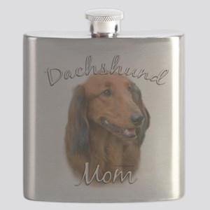 DachshundlongMom Flask