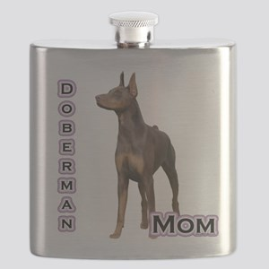 DobermanrustMom4 Flask