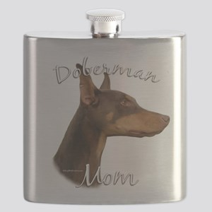 DobermanRedMom Flask