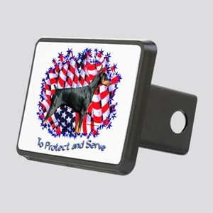 Dobie Protect Rectangular Hitch Cover