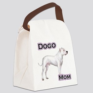 DogoMom4 Canvas Lunch Bag