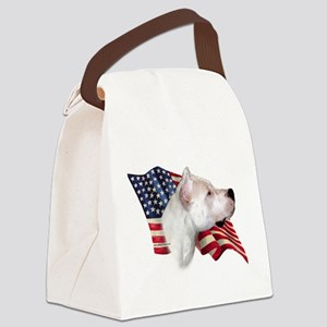 DogoFlag Canvas Lunch Bag