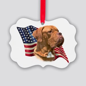 DogueFlag Picture Ornament