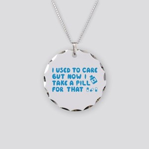 Used To Care Necklace