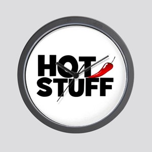 Hot Stuff Wall Clock