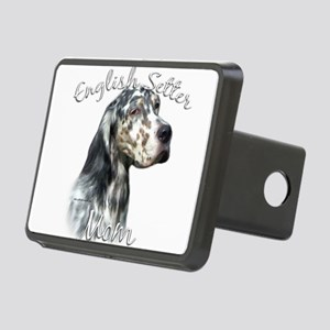 EnglishSetterMom Rectangular Hitch Cover