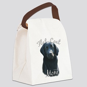 FlatCoatMom Canvas Lunch Bag
