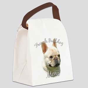 FrenchBulldogMom Canvas Lunch Bag