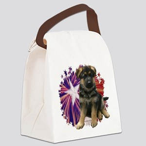 GSDStar Canvas Lunch Bag