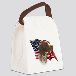GermanShortFlag Canvas Lunch Bag