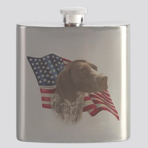 GermanShortFlag Flask