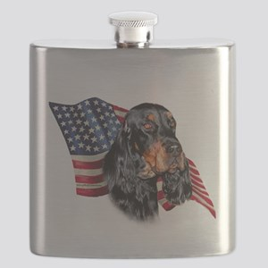 GordonSetterFlag Flask
