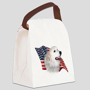 GreatPyrFlag Canvas Lunch Bag
