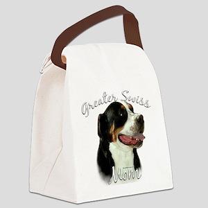 Greater SwissMom Canvas Lunch Bag