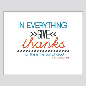 In Everything Give Thanks Posters