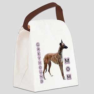 GreyhoundMom Canvas Lunch Bag