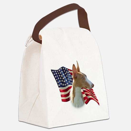 IbizanFlag.png Canvas Lunch Bag