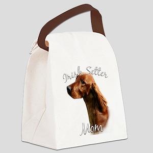 IrishSetterMom Canvas Lunch Bag