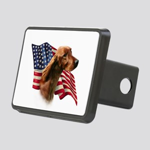 IrishSetterFlag Rectangular Hitch Cover