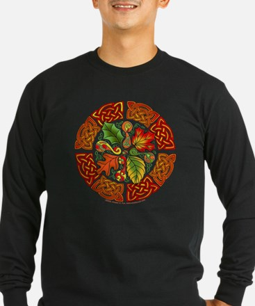 Celtic Autumn Leaves T