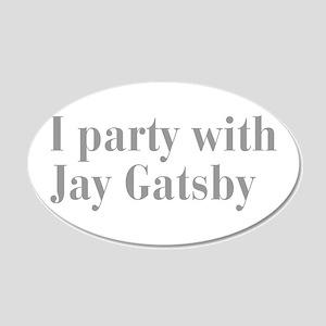 jay-gatsby-bod-gray Wall Decal
