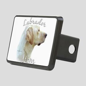 LabradoryellowMom Rectangular Hitch Cover