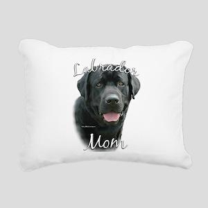 LabradorblackMom Rectangular Canvas Pillow