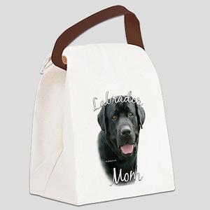 LabradorblackMom Canvas Lunch Bag
