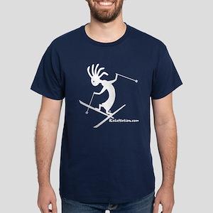 Kokopelli Extreme Skier Dark T-Shirt