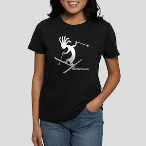 Kokopelli Extreme Skier Women's Dark T-Shirt