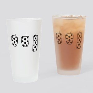 3 better than 2 Drinking Glass